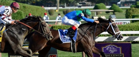 2012 Breeders' Cup Thoroughbred Racing Series Betting