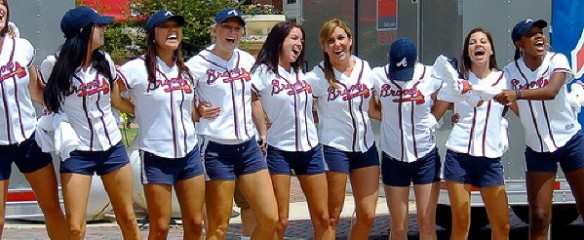 Tomahawk Girls MLB Atlanta Braves