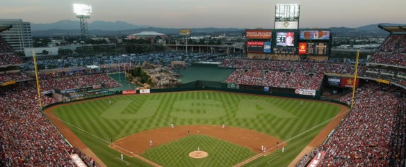 Angel Stadium of Anaheim MLB
