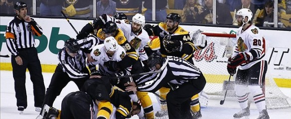 Bruins vs. Blackhawks: 2013 NHL Stanley Cup Finals Game Five Call
