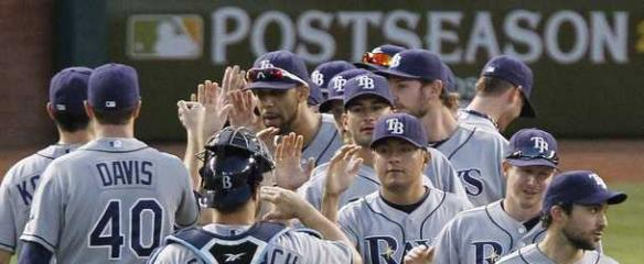 MLB American League Playoffs: Rays Roll While Rangers Reel
