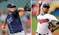 Tampa Bay Rays vs Cleveland Indians MLB Wild Card Playoffs